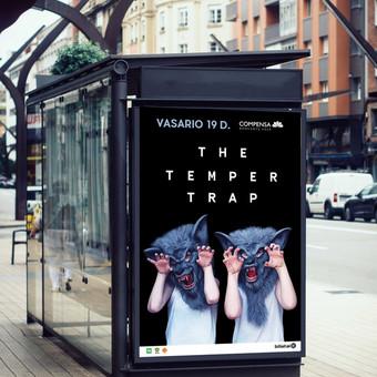 """""""Temper Trap"""" stotelės maketas. Klientas: """"Fors Event"""","""