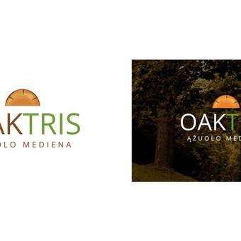 """Oaktris"" logotipas,"