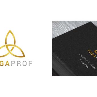 """""""YOGAPROF"""" logotipas"""