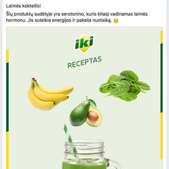 """""""IKI"""" facebook vizualas"""