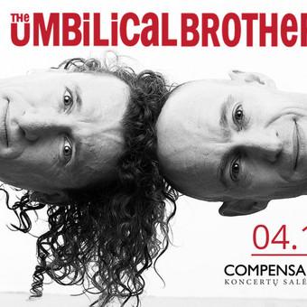 """Umbilical Brothers"" facebook renginio cover'is"