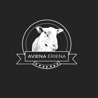 Logotipas avių ūkiui.