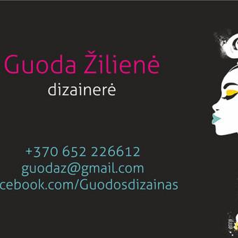Grafikos dizainerė / Guoda / Darbų pavyzdys ID 264921