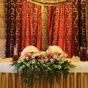 Jaunavedžių stalo dekoras