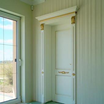 Vidaus durys iš medžio masyvo / Aidas Mazūra / Darbų pavyzdys ID 268975