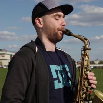 Saksofonistas / Manvydas Pratkelis / Darbų pavyzdys ID 273451