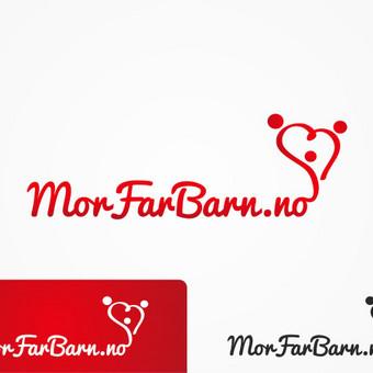 Logotipas skirtas organizacijai, kuri puoselėja šeimos vertybes ir saugo vaiko teises.