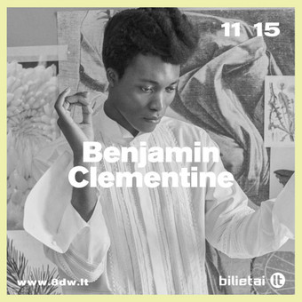 """Benjamin Clementine"" baneriai. Klientas: 8 Days A Week"