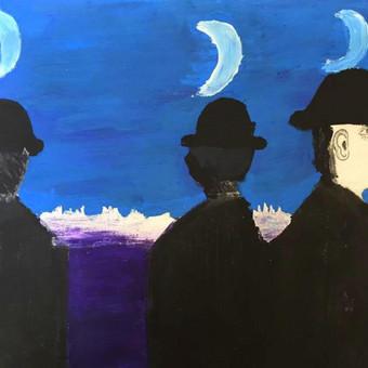 René Magritte paveikslo interpretacija.