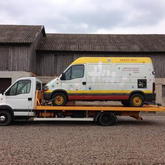 Technikos - krovinių pervežimai / Hempa Transportas / Darbų pavyzdys ID 280595