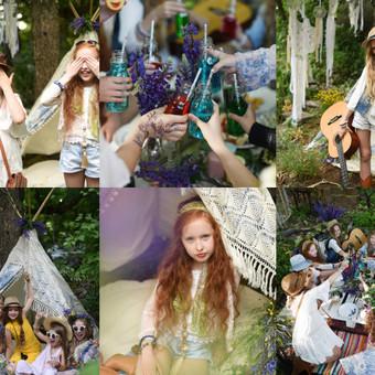 Idėjiniai gimtadieniai, mergvakariai JurArt's sodelyje. Pasirūpiname viskuo - dekoru, rūbais, maistu.