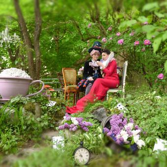 Idėjinės draugių fotosesijos JurArt's sodelyje