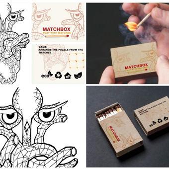 Dektukų dėžutės dizainas