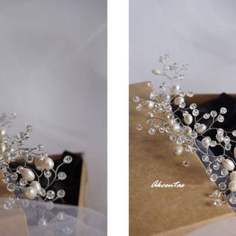 Gėlavandenių perlų ir kristalų tango: Akcentas accessories