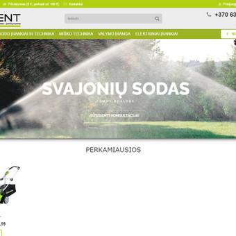 Sodo technikos nuoma ir prekyba www.a-rent.lt