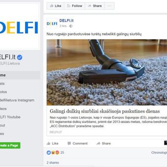 Darbo pavyzdys Nr. 5 : Parašytas ir išplatintas pranešimas spaudai, kuriuo buvo pasidalinta ne vien  naujienų portaluose, bet ir jų socialiniuose tinkluose. Šis įrašas visą dieną buvo DELFI Top 5-ete
