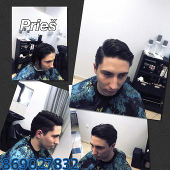 Vyriski kirpimai ir barzdu modeliavimas,skutimas / Loreta / Darbų pavyzdys ID 288069
