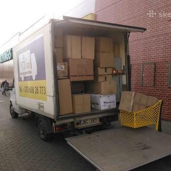 Perkraustymo paslaugos / Krovinių Pervežimas / Darbų pavyzdys ID 288071
