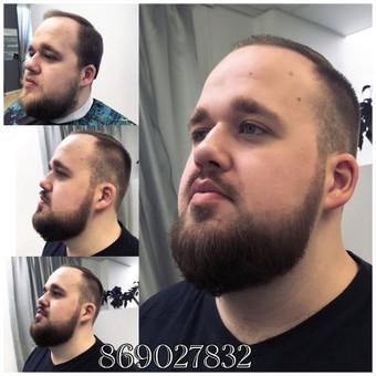 Vyriski kirpimai ir barzdu modeliavimas,skutimas / Loreta / Darbų pavyzdys ID 288129