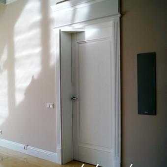 Vidaus durys iš medžio masyvo / Aidas Mazūra / Darbų pavyzdys ID 288885