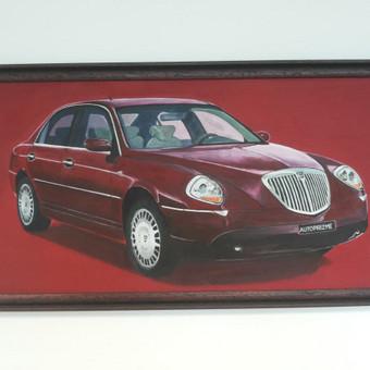 Lancia,2007,kartonas,aliejus,80x120