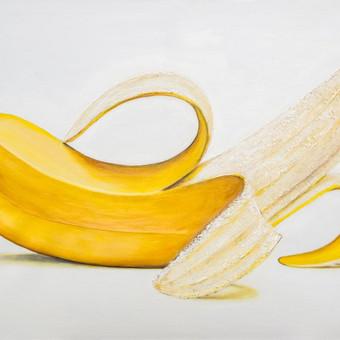 Bananas,2017,misri technika,50x100
