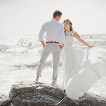 Vestuvių planavimas Klaipėdoje. Vestuvių planavimas prie jūros.