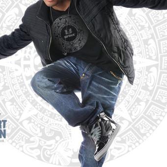 """Logotipas ir visas vizualus stilius šokių studijai """"Sfinx"""""""