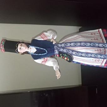 Klaipėdos krašto nuotaka.60 cm aukščio