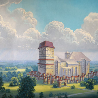 """""""Po audros"""" Paveikslas tapytas ant drobės aliejiniais dažais, dydis 80x60cm (NEPARDUOTAS)"""