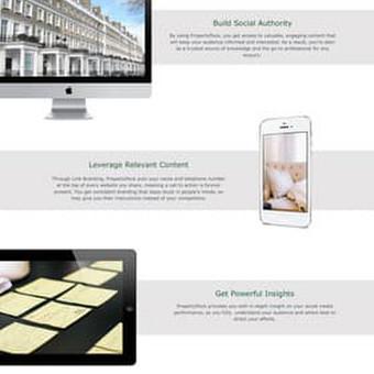 Web dizainas Property flock.