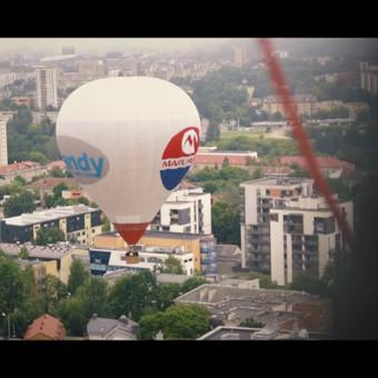Vilniaus oreivių klubo padangių gėlės teaser
