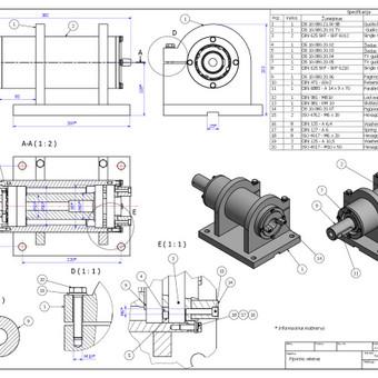 Braižytojas Klaipėdoje (AutoCad, SolidWorks, Inventor) / ProjektasCAD / Darbų pavyzdys ID 297735