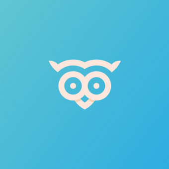 OWL pin - PARDUODAMAS  |   Logotipų kūrimas - www.glogo.eu - logo creation.