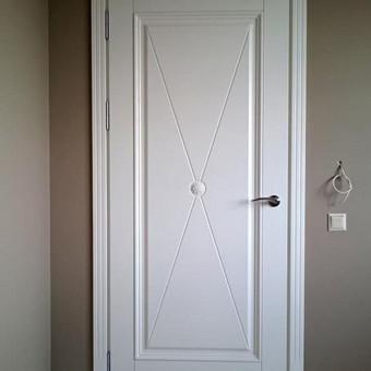 Vidaus durys iš medžio masyvo / Aidas Mazūra / Darbų pavyzdys ID 307007