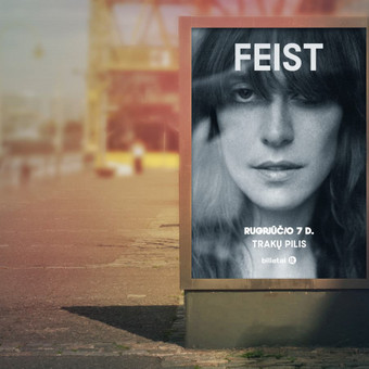 """Feist"" maketas.  Klientas: Fors Event"