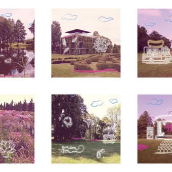 Iliustracijos Leon Somov & Jazzu koncertui botanikos sode.  Klientas: Fors Event