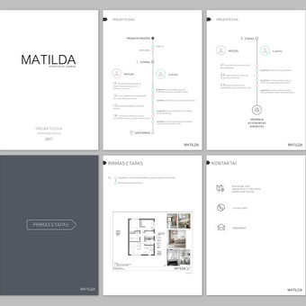 """Matilda"" bukletas Klientas: ""Matilda"" interjero namai"