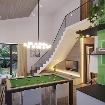 Interjero dizainas ir projektavimas (Vilnius, namas)