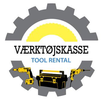 Naujo logotipo sukūrimas. Įmonės veikla - įrankių nuoma Danijoje.