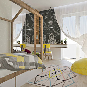 Udizainas - interjero dizainas / Ugnė Majauskaitė / Darbų pavyzdys ID 319103