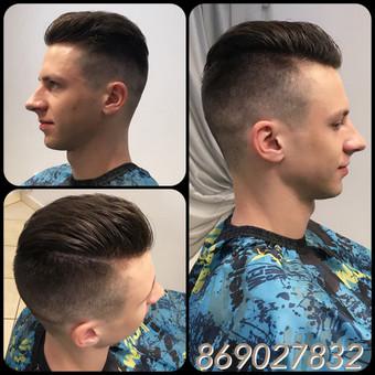 Vyriski kirpimai ir barzdu modeliavimas,skutimas / Loreta / Darbų pavyzdys ID 322213