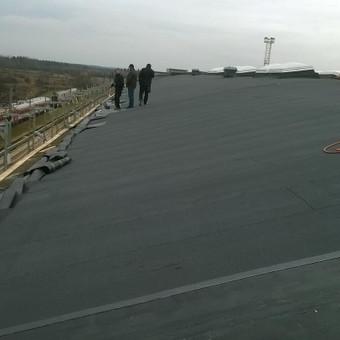 plokščių stogų renovacija