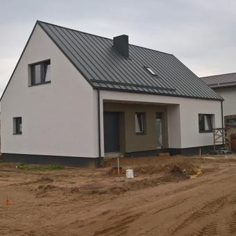 Gyv. namo statyba,- iki raktų.
