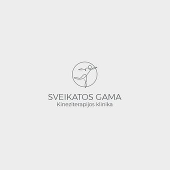 """""""Sveikatos gama"""" branding'as. Logotipas"""