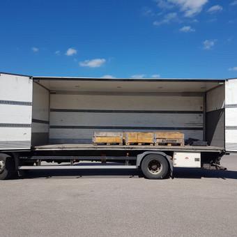 Kroviniu pervezimas /gabenimas Panevezys / Egidijus / Darbų pavyzdys ID 326929