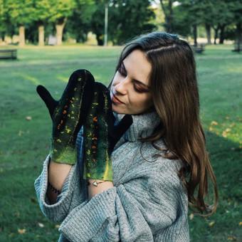 Velti batai, tapkės, pirštinės, šalikai / Inga / Darbų pavyzdys ID 330277