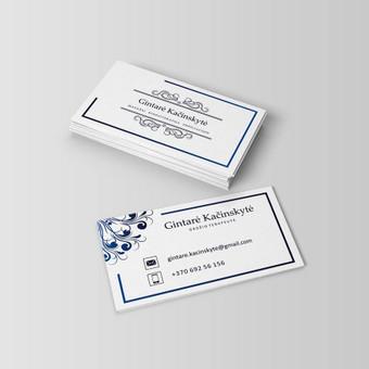 Grafinio dizaino paslaugos / Simona V. / Darbų pavyzdys ID 331095