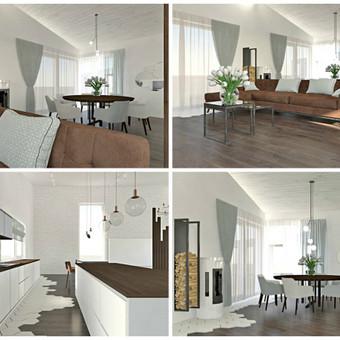 Udizainas - interjero dizainas / Ugnė Majauskaitė / Darbų pavyzdys ID 335091