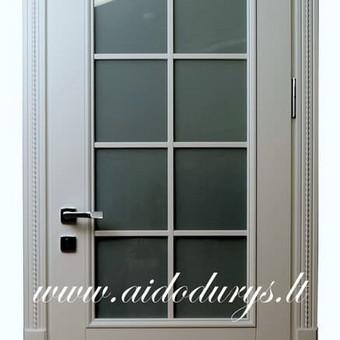 Vidaus durys iš medžio masyvo / Aidas Mazūra / Darbų pavyzdys ID 335355